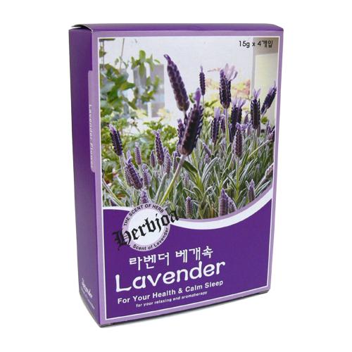 라벤더 베개속 세트 大 30g 2개입 (Lavender)