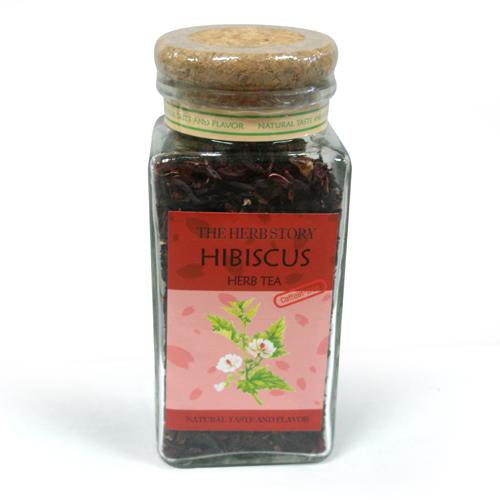 허브스토리 하이비스커스 잎차 75g (Hibiscus)